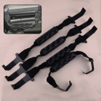 4pcs New Front&Rear Top Roof Roll Bar Grab Handles Fit For Jeep Wrangler JL Gladiator JT 2018 2019 2020 82215523 82215524