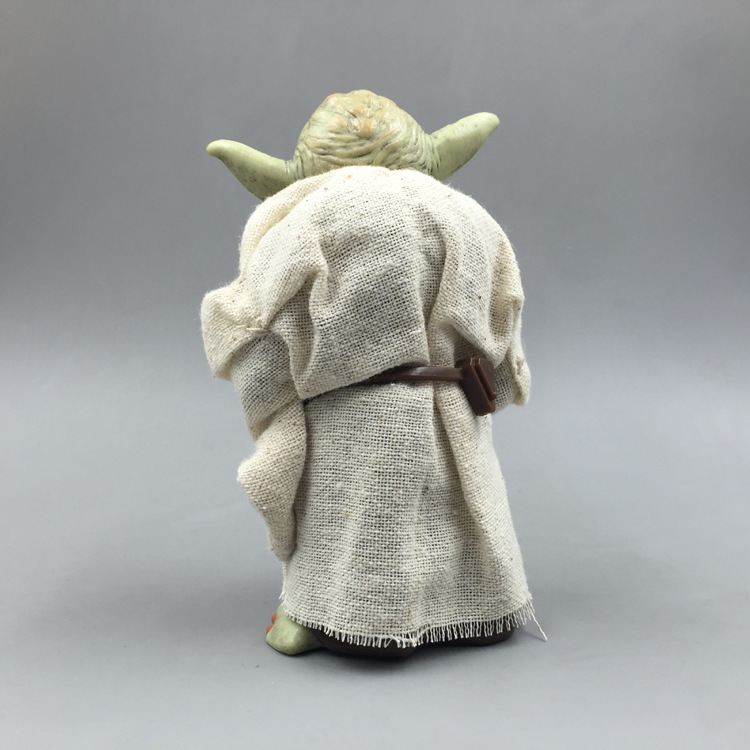 Star Wars Monster Yoda Darth Vader Action Figure Doll Toys The Force Awakens Jedi Master Yoda Anime Figures Lightsaber 4