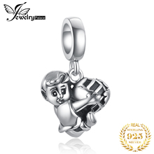 JewelryPalace Football Boy 925 Sterling Silver Beads Charms Original For Bracelet original Jewelry Making