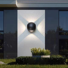 Indoor Lighting LED Spherical Wall Lamp IP65 Waterproof  Outdoor Aluminum Wall Light Surface Mounted Cube LED Garden Porch Light