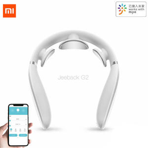 Xiaomi Jeeback Cervical Massager G2 TENS Pulse Back Neck Massager Far Infrared Heating Health Care Relax Work With Mijia App