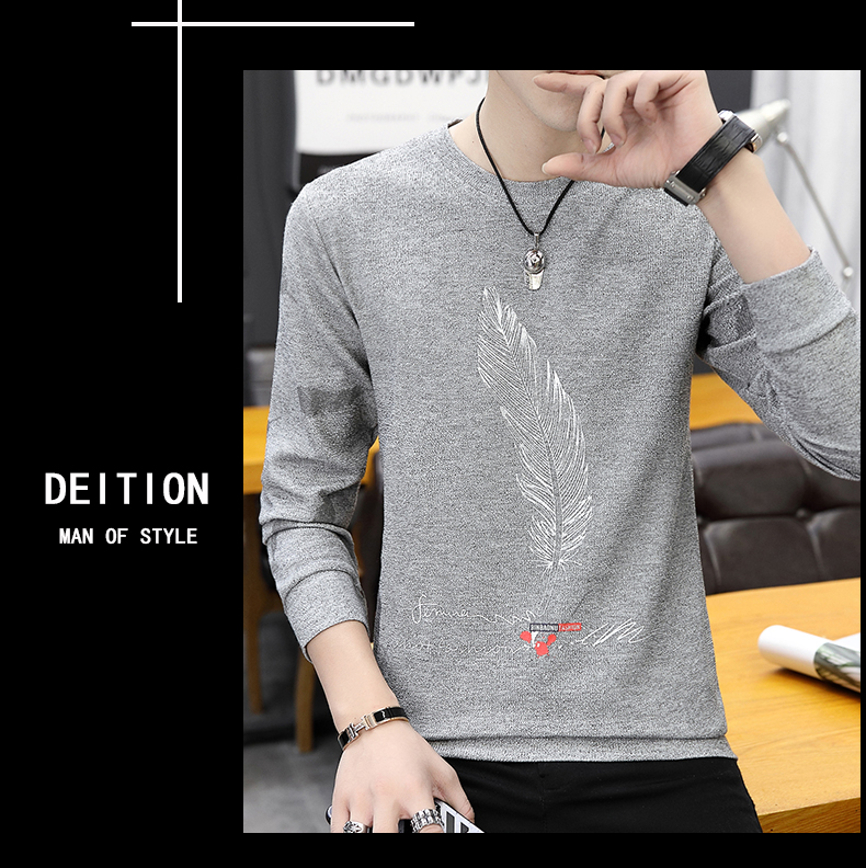 H85e37328f682411c9f272ff07f3f2146d CO 2019 men long sleeve printed fleece New age season round collar fleece youth trend