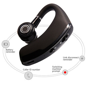 Headphone V9 Bluetooth-compatible Earphone Hands-free Wireless Headset Noise Control With Microphone High Quality Stereo Audio 2