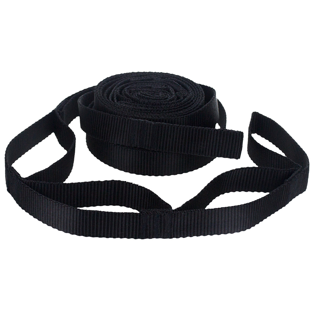 2Pcs 200cm Adjustable Yoga Camping Portable Tied Rope Aerial Outdoor Accessories Hiking Garden Park Tree Hanging Hammock Strap