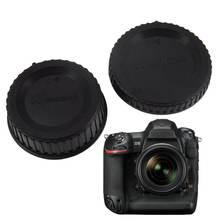Задняя крышка объектива Крышка Камеры Передняя корпуса для n