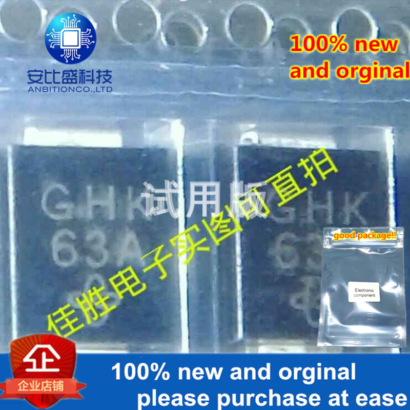 30pcs 100% New And Orginal SMCJ130CA Bidirectional Transient Tube DO214AB Silk-screen GHK In Stock