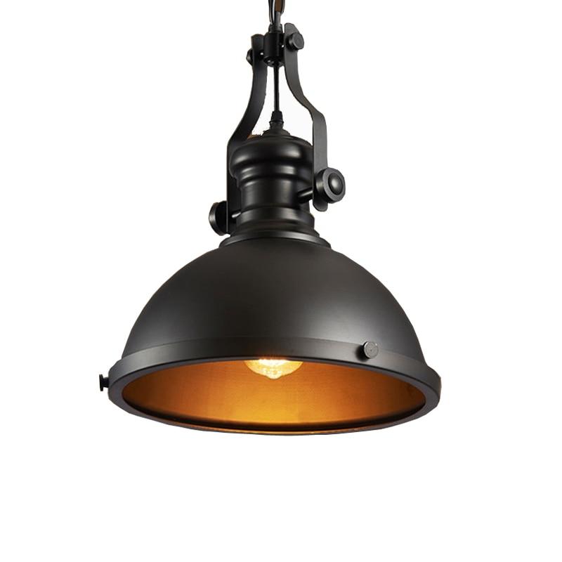 Ретро Лофт люстра проход коридор паб ресторан столовая Кафе лампа Шахта склад крыльцо погреб подвесной светильник