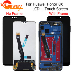 100% testé pour Huawei Honor 8X écran LCD + écran tactile numériseur avec cadre JSN-L21 JSN-L42 JSN-AL00 JSN-L22 pour 8X LCD