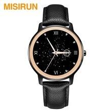 Misirun S06 Smart Horloge Vrouwelijke Bracelat Gold Metal Hartslag Smart Horloge Custom Horloge Gezicht Vrouwen Pols Band Smartwatch