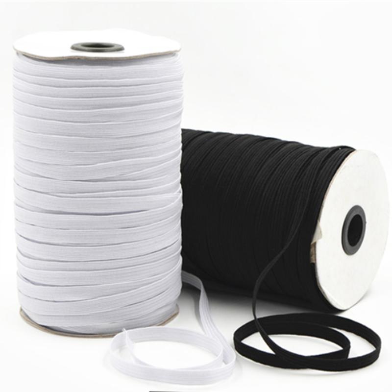 High-Elastic Sewing Ribbon Spandex 3//6//8//10//12mm 5yards//Lot