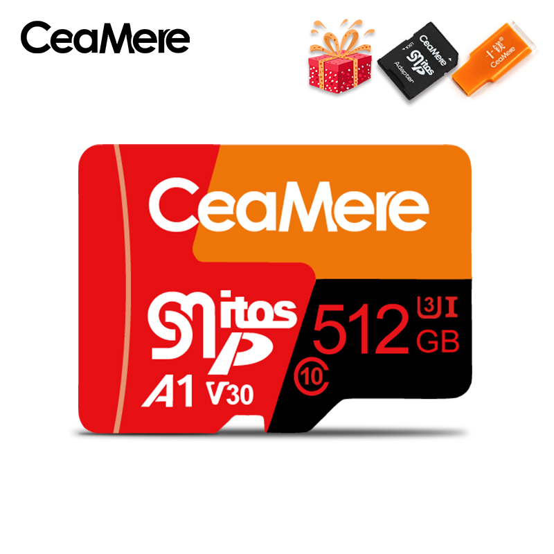 Image 4 - CeaMere Micro SD Card  Class10 UHS 1 8GB Class6 16GB/32GB U1 64GB/128GB/256GB U3 Memory Card Flash Memory Microsd for Smartphone-in Memory Cards from Computer & Office