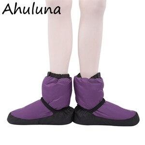 Женские Балетные теплые ботиночки для танцев; Женские балетки; Теплые балетки с острым носком; Теплые ботинки для танцев; DS003
