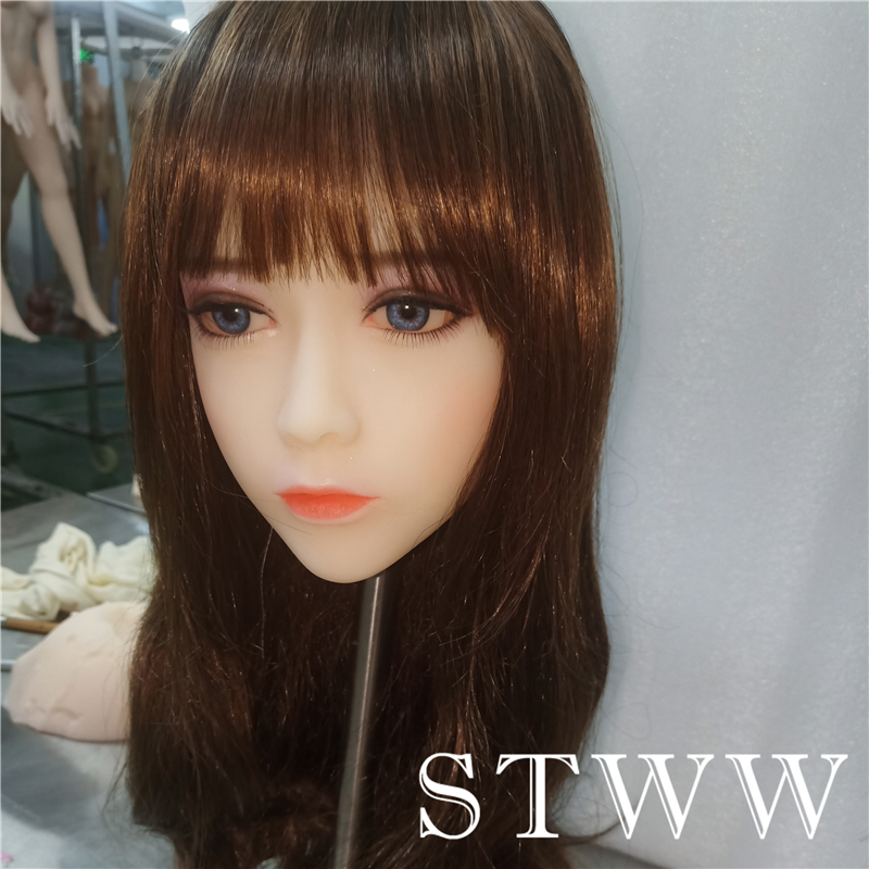 STWW <font><b>Sex</b></font> <font><b>Doll</b></font> Head Oral Love Sexy <font><b>Doll</b></font> Head Japanese Female <font><b>Sex</b></font> Toys for men poupee <font><b>sex</b></font> silicone realiste <font><b>Asian</b></font> <font><b>Sex</b></font> <font><b>Doll</b></font> Head image