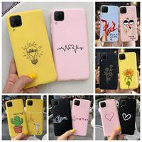Para Huawei Nova 7i 5 caso suave de silicona líquida proteger fundas para teléfono de piel Nova7i Coque Nova5t Funda para Huawei Nova 7i 6 cubierta