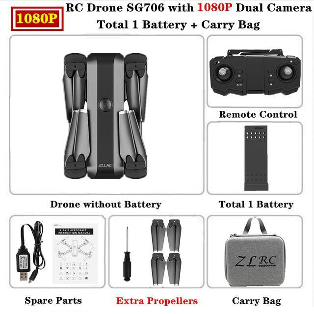 SG706 HD 1080p Carry Bag