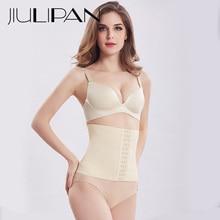 JIULIPAN High waist abdomen clip to receive stomach lace corset belt postpartum strengthen body underwear women