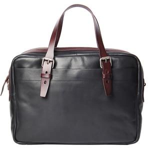 Image 5 - กระเป๋าผู้ชายใหม่ผักกระป๋องหนังกระเป๋าถือกระเป๋าเอกสาร Retro หนังผู้ชายธุรกิจไหล่กระเป๋าคอมพิวเตอร์กระเป๋าเดิม
