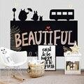 120x85cm Kreative Tafel Tafel Wand Aufkleber Abnehmbare Kinder Schreiben Malerei Lernen Nachricht Bord Wohnkultur Tapete