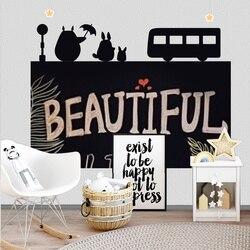 120x85cm pizarra creativa pegatina de pared de pizarra extraíble niños escritura pintura aprendizaje tablero de mensajes decoración del hogar papel pintado