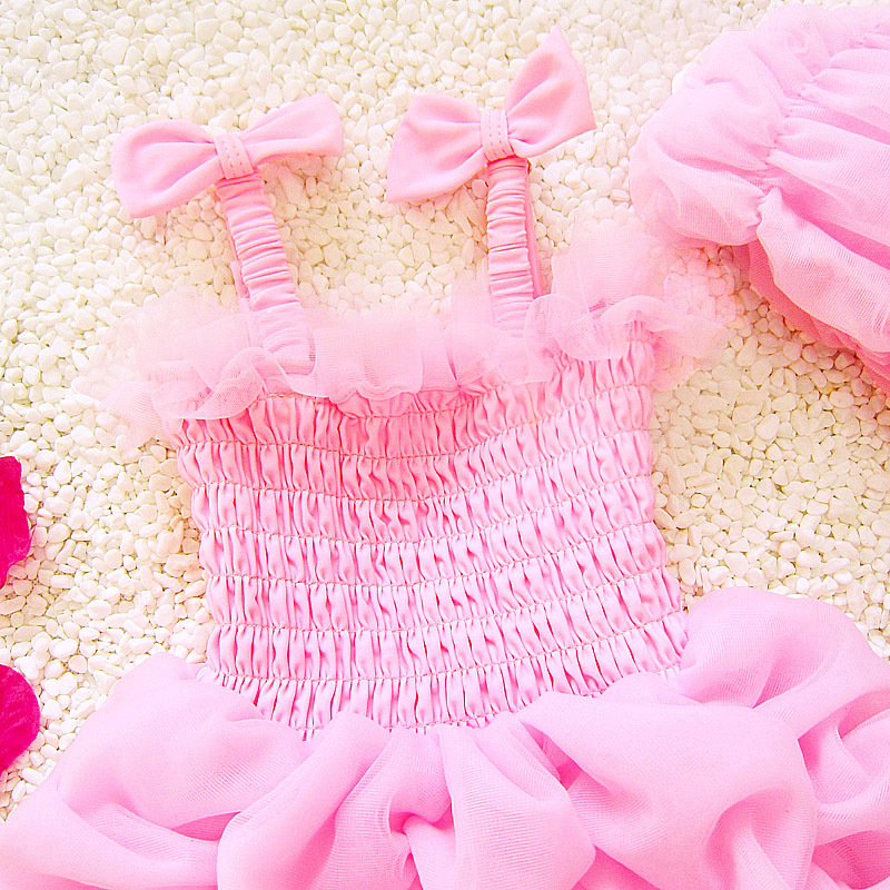 New Style Infants KID'S Swimwear Hot Springs Children Baby Girls Tour Bathing Suit One-piece Tutu South Korea GIRL'S Swimsuit