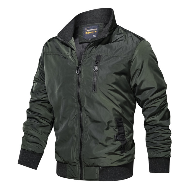 New Mens Jackets 2020 Spring Autumn Military Coats Fashion Army Casual Outerwear Male Bomber Jacket Men Overcoats Brand Clothing Others Men's Fashion