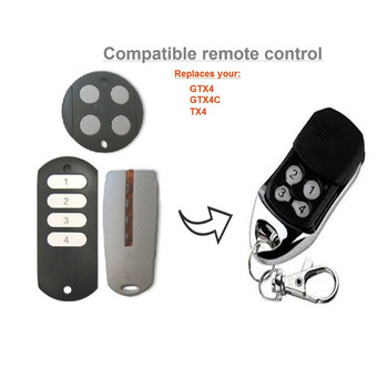 Top Qualifty ! 1pcs Compatible Remote Control /Hand Transmitter for MHouse GTX4, GTX4C,TX4 Free shipping 2 pieces lot for came top 432sa replacement remote control free shipping