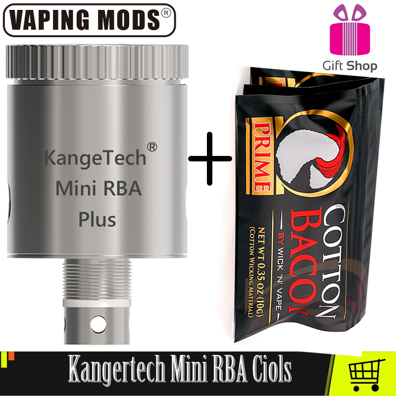 Original Kangertech Subtank Mini RBA Plus Coils With CottoN Bacon Kanger RBA Coils For Kangertech Subtank Mini Atomizer Vape