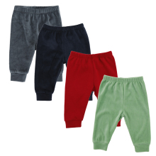 3/4 Pieces Baby Trousers Kid Wear Busha Baby Pants Boy Girl Infant Toddlers Clothing Cotton Pant