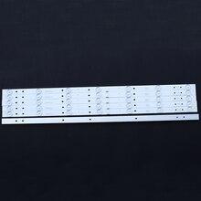Bandes de lentille optique pour téléviseur LED rétro éclairage, 7LED 59cm, 4 pièces/lot, 6V 32 pouces, Haier LD32U3100, CRH F323030020756P REV1.0