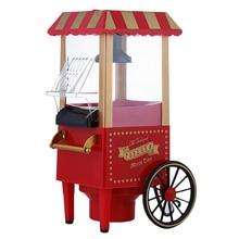 Home Small Electric Carnival Popcorn Maker Retro Machine For Kids EU Plug