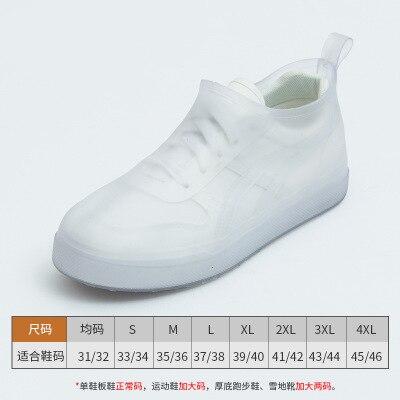 Waterproof Overshoes Low-cut Rain-proof Snow Rain Boots Shoe Cover Men Women Reusable Latex Shoes Accessories Slip-resistant
