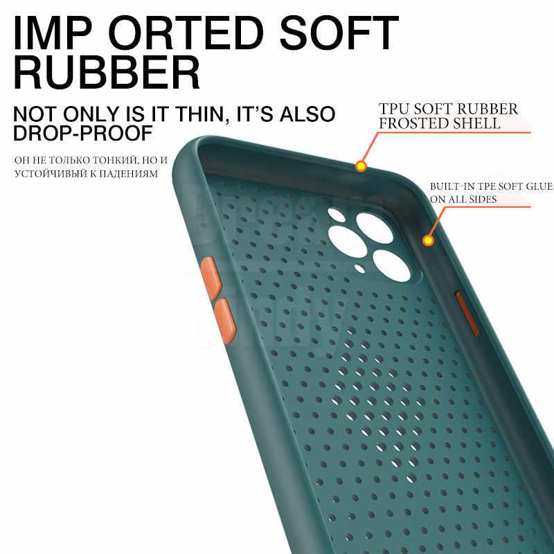Ультратонкий чехол для iphone 11 Pro X XR XS Max SE 2020 7 8 PLus 6 6s противоударный чехол SE2 Мягкий силиконовый чехол из ТПУ
