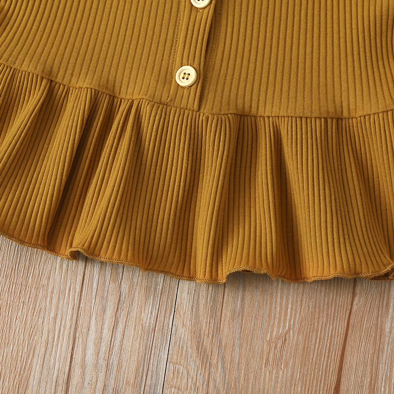 KiKibaby Girls Stripe Sleeveless Shirt Chiffon Culottes 1 Pieces Set Clothes Skirt Suit