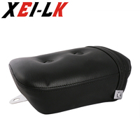 Synthetic Leather Black Rear seat For Yamaha Virago 250 XV250 1988-2013 2012 09