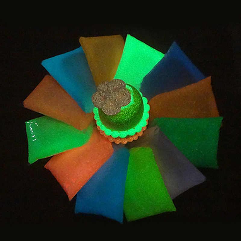 Bambini Best Regalo Si Illumina di Notte Light Polymer Clay Aria Secca Per Bambini Morbida Modellistica Salto Intelligente Plastilina Melma Giocattolo