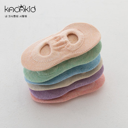 Kacakid Spring And Autumn New Style Children's Socks Infants Vulnerability No-show Socks Men And Women Baby Anti-slip Comfortabl