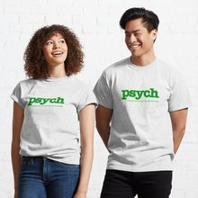 Psych Clássico T-Shirt