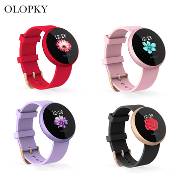 B36 Women Smart Watch Heart Rate Monitor Female Reminder Watches Ladies Wristband Sport Tracker Clock For Android IOS Phone