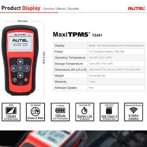 Image 3 - Autel MaxiTPMS TS401 narzędzie TPMS OBD2 skaner aktywować skanowania czujnik TPMS kopii OE identyfikator, aby Mx czujnik programowania Autel TPMS czujnik Mx