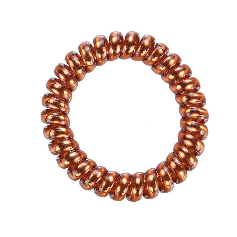 5 stks/partij Nieuwe Mode Vrouwen Telefoon Draad Haarbanden Rubber Band Haar Accessoires voor Vrouwen Paardenstaart Houder Haar Touw Haarbanden