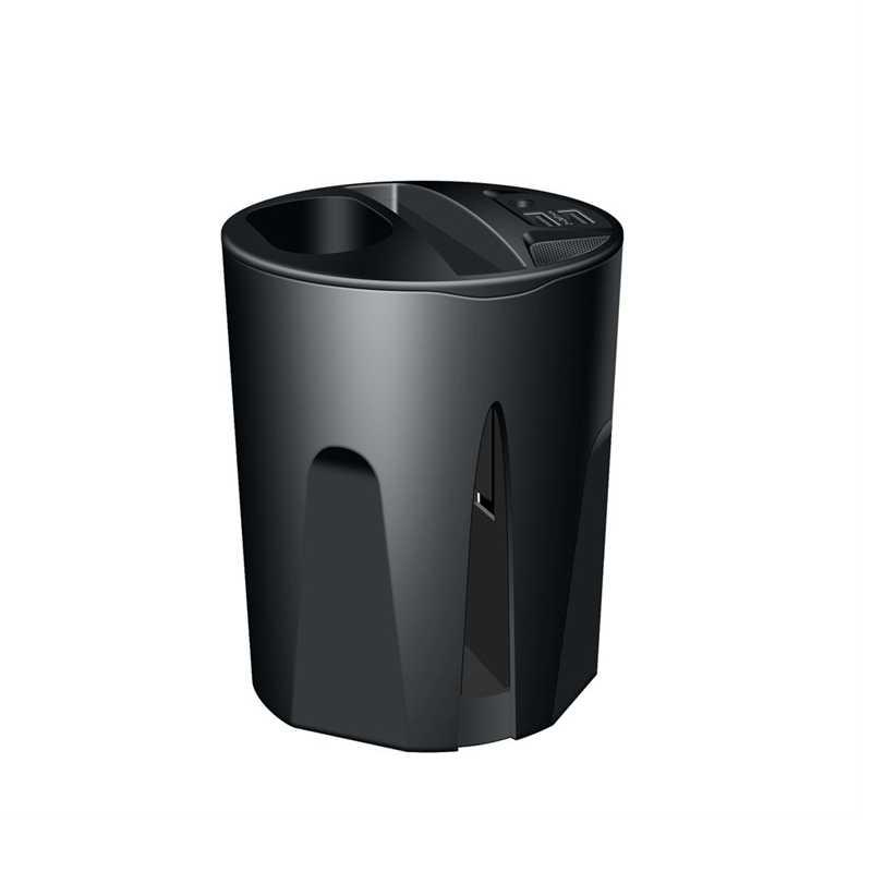 X9a 10 w sem fio 4 em 1 copo carregador de carro com saída usb dupla para iphonexs/xr/xs max para airpods telefone móvel