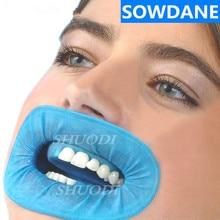 Одноразовые стоматологические резиновые плотины щек Ретрактор натуральный резиновый барьер уход за полостью рта отбеливающие материалы для зубов