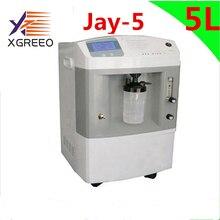 Oxygenerator הרפואי בית/בית חולים/מרפאת שימוש 5LOxygen רכז זרימה אחת JAY 5 חמצן טנק