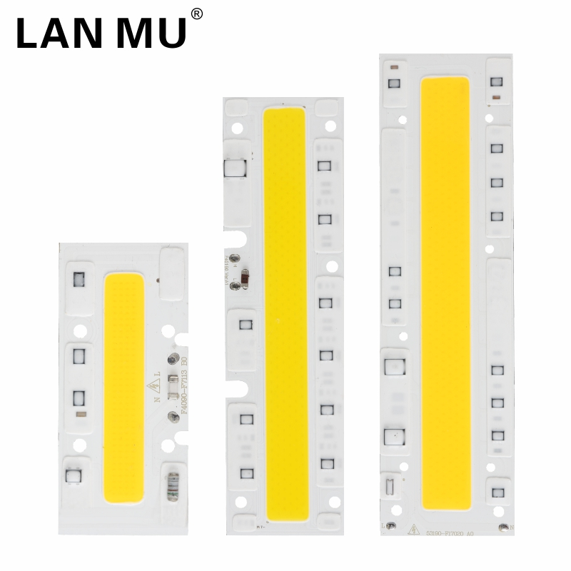 LED COB Chip 30W 50W 70W 100W 120W 150W AC 220V 110V LED Lamp IP65 Smart IC For LED Flood Light Cold White Warm White Spotlight