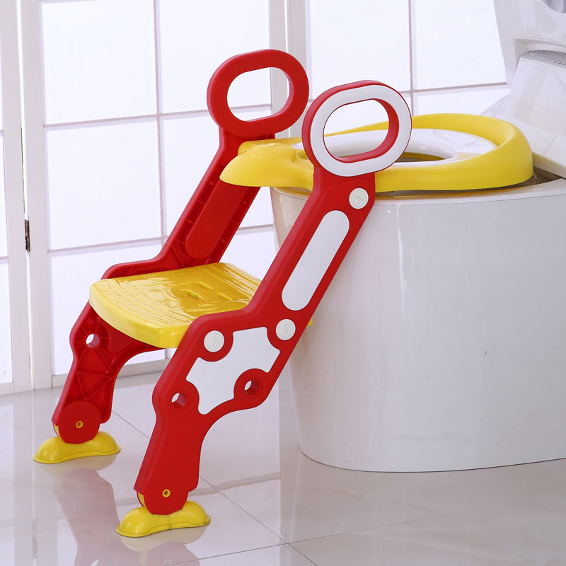 Extra-large No. Children Step-wise Pedestal Pan Chamber Pot Ladder Toilet Seat Men And Women Baby Commode Chairs Stool Thick Fol