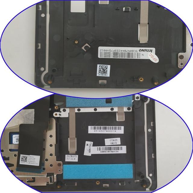 Darmowa dostawa!! 1PC nowy oryginalny osłona na klawiaturę laptopa C wielkie litery podpórce pod nadgarstki dla Lenovo 520s-14