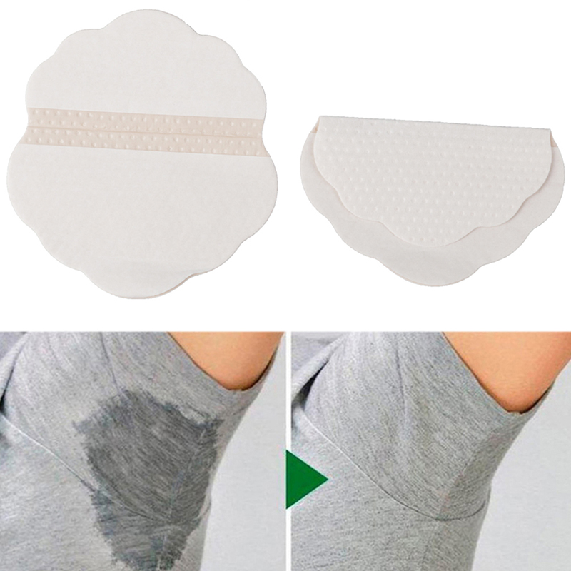 2Pcs Armpits Sweat Pads Armpits Linings Disposable Anti Sweat Stickers Underarm Gasket From Sweat Absorbing Pads Remove Odor