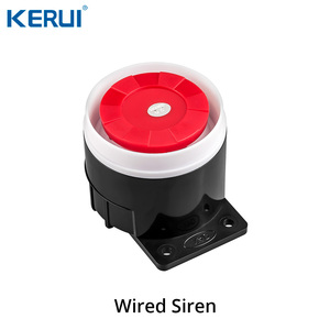 Image 5 - Keru iK52 sistema de seguridad con alarma GSM, sistema antirrobo para puerta, recordatorio abierto, Sensor de humo
