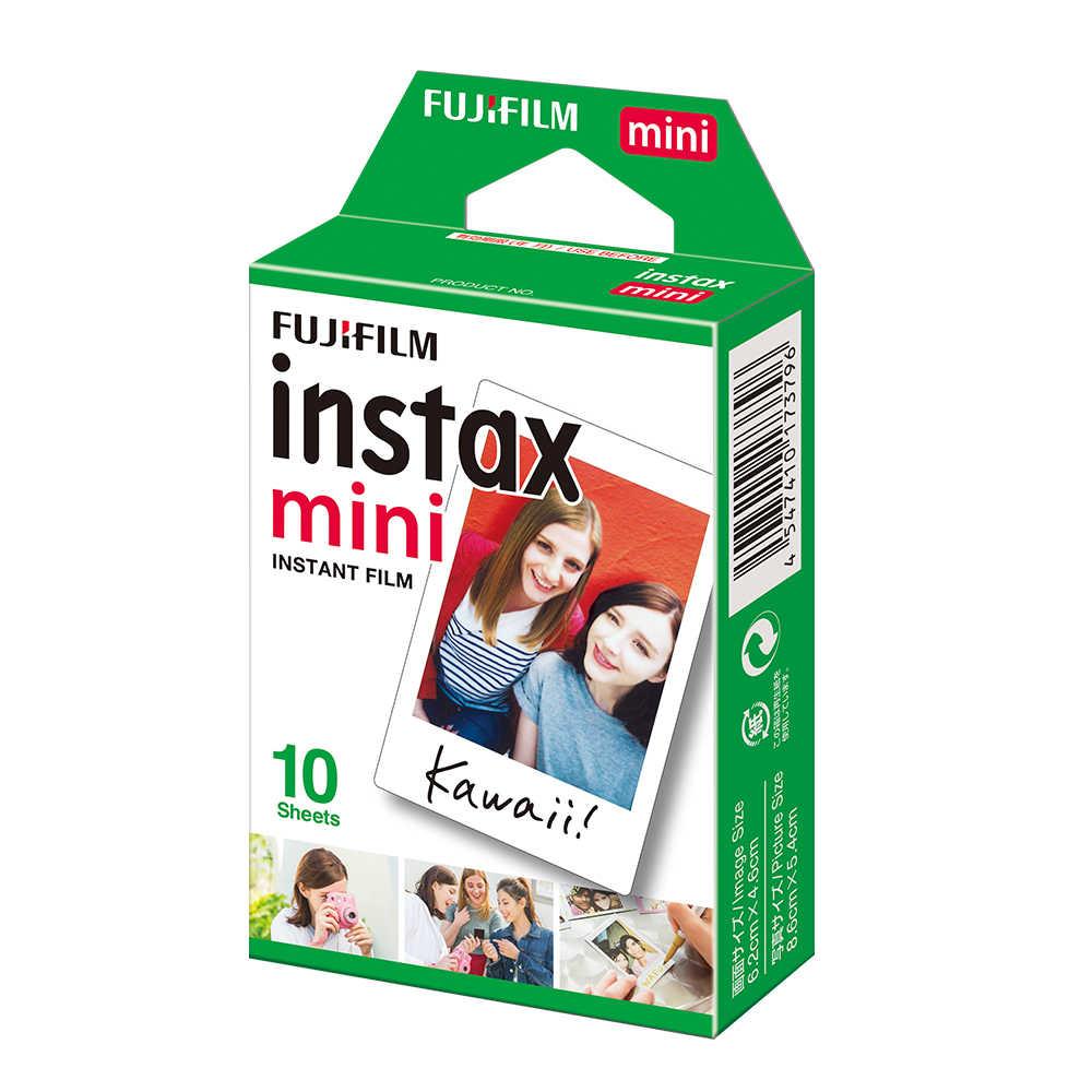 Bộ Máy Chụp Ảnh Lấy Ngay Fujifilm Instax Mini Bộ Phim Trắng 10-200 Tờ Cho Fuji Ngay Hình Máy Ảnh Mini 9 Mini 8 7 S 70 90 + Tặng Album Ảnh Túi Đựng Thẻ