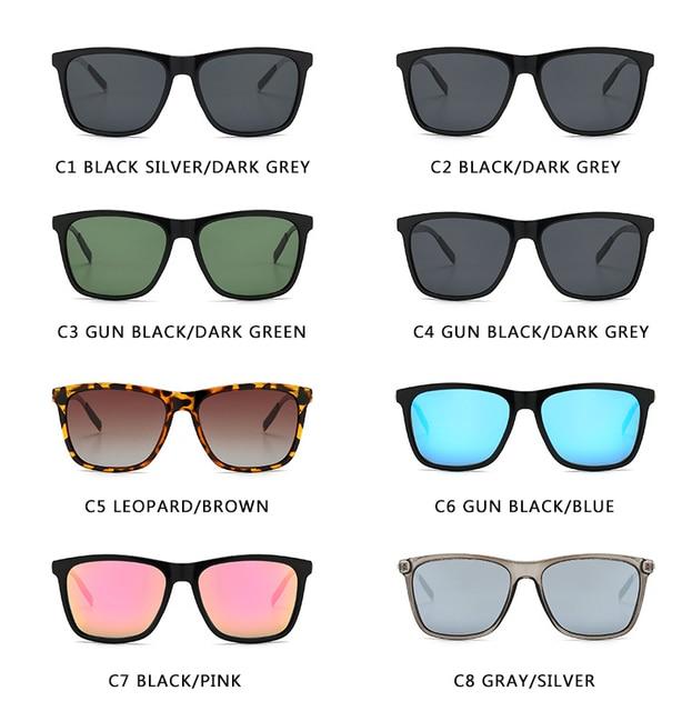 Unisex Retro Aluminum+TR90 Polarized Lens Sunglasses 3